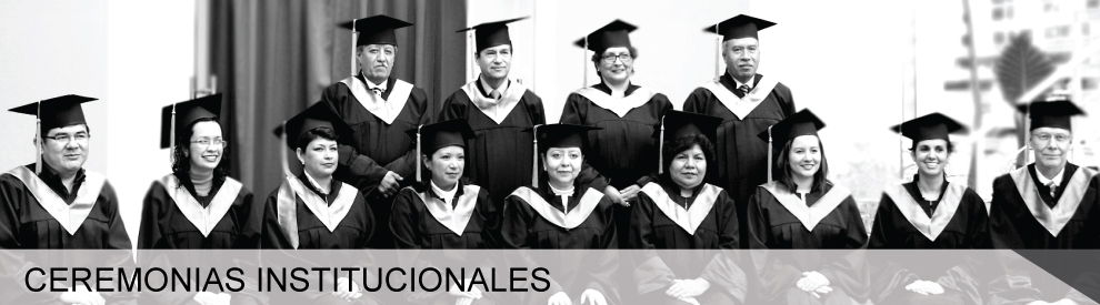 Ceremonias Institucionales
